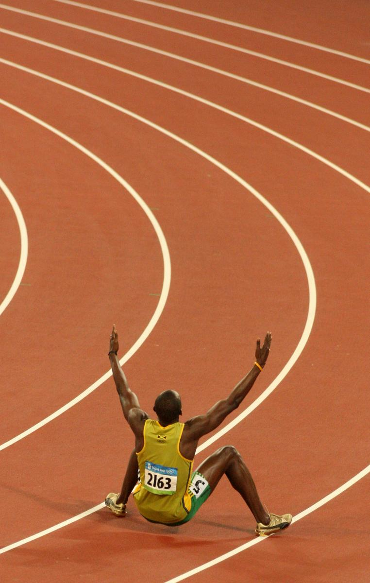 Bolt World Record - Beijing Olympics 2008