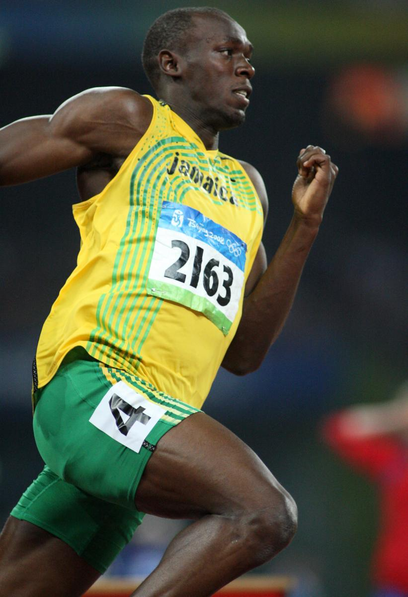 2008 Beijing Olympics - Usain Bolt World Record 200m